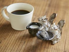 Kitchenware, Tableware, Mug Cup, Squirrel, Interior And Exterior, Tea Pots, Art Photography, Porcelain, Kawaii