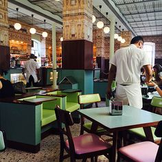 Wes Anderson's Bar Luce in the Prada Foundation