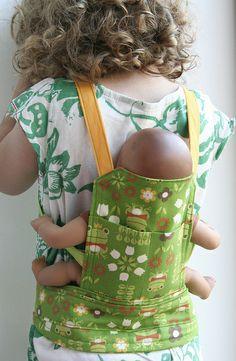 Leven met Liv - draagzak voor poppen voor kinderen. Doll carrier for kids.