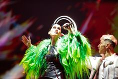 Youth Culture, Pop Culture, Eurovision Songs, Live Events, Stage Outfits, Green Jacket, Ukraine, Style Icons, Fashion News