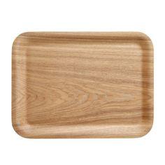 Ash Wooden Tray 32x24cm muji 10$