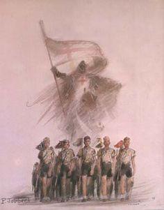 Saint George et les scouts