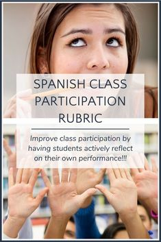 This easy-to-use rubric for evaluating Spanish class participation encourages students to actively reflect on their own learning while streamlining your grading process!