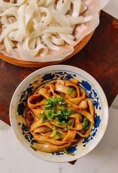 Homemade Rice Noodles, by thewoksoflife.com