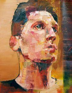"Artist: Andrew Salgado; Oil 2013 Painting ""Performance I"""