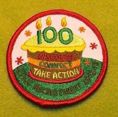 Girl Scouts of San Jacinto 100th Anniversary Recruitment event. Thank you Yolanda!