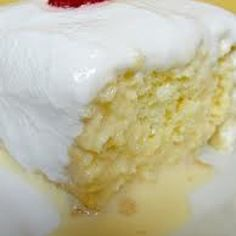 Tres Leches ( mexican 3 milk cake)