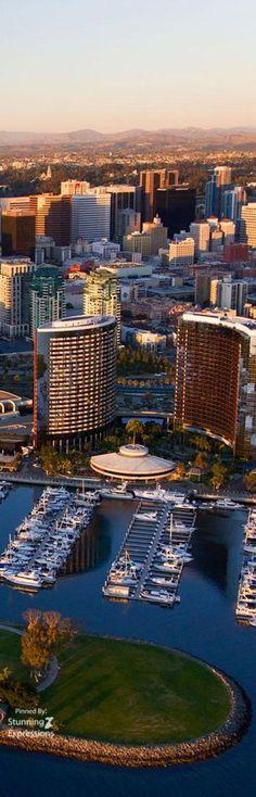 Skyscrapers & Marina – San Diego California | USA