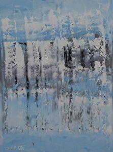Winter Ocean 3, Ocean 48 by Marino Chanlatte in the FASO Daily Art Show