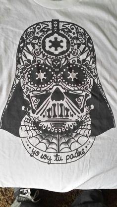 Star Wars  Dia de Los Muertos Darth Vader