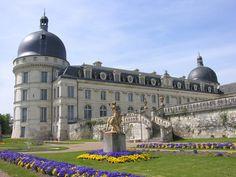 valencay chateau france | ... et palais Châteaux de la Loire Château de Valencay - France