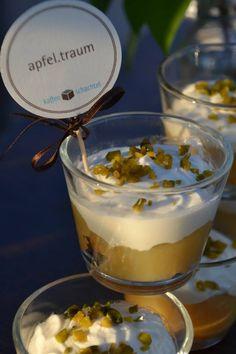 Super Nachtischideen von www.kaffeeschachtel.de. Und erst der Kaffee!!!
