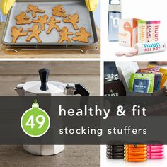 49 Stocking Stuffers for Health and Fitness Lovers