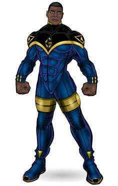 Gilead Samson for Hulkdaddyg Sept 2017 by on DeviantArt New Superheroes, Superhero Characters, Alien Character, Comic Character, Black Anime Characters, Fantasy Characters, League Of Heroes, Alternative Comics, Black Comics