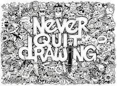 Hasil gambar untuk simple doodle art for beginners