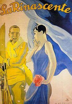 """Anno: 1927 Soggetto: """"La Rinascente"""" - Stampa Star-IGAP, Milano Provenienza: Raccolta Salce, Museo Bailo, Treviso"""
