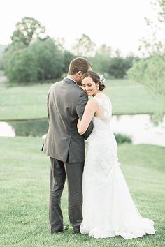 Brides: Virginia Wedding at Evergreen Country Club in Haymarket: Photos
