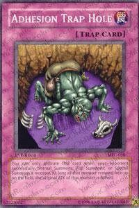Yu-Gi-Oh! - Adhesion Trap Hole (MFC-050) - Magicians Force - 1st Edition - Common