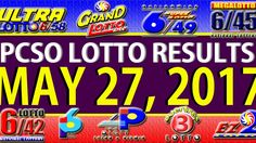 NO JACKPOT WINNER ********** Watch the PCSO lotto results video today, May 2017 (Wednesday). The lotto games that are featured in this video are … Lotto Results, Lotto Games, Jackpot Winners, Lottery Tips, Oita, May, Positive Affirmations, Stress, Positivity