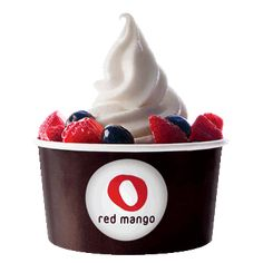 Red Mango Frozen Yogurt Shop Frozen Yogurt Store Frozen Yoghurt Smoothies Probiotics