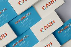 This is a multiple stacked psd business card mockup showcase to let you showcase different business card designs with ease. You...