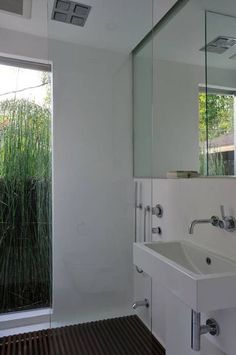 small bathroom remodel window, this could be great, need some cat tails or whatever.