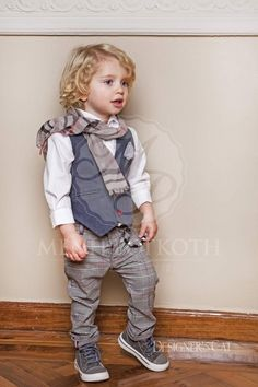 Kids Wear Boys, Christening, Girl Hairstyles, Hipster, Couture, Hair Styles, Hats, How To Wear, Design