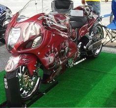 Bobber Motorcycle, Cool Motorcycles, Motorcycle Design, Custom Street Bikes, Custom Sport Bikes, Custom Hayabusa, Biker Rallies, Bikes Direct, Crotch Rockets