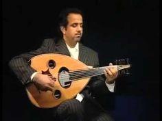 عازف العود العراقي أحمد المختار مع عزف مقام الكرد
