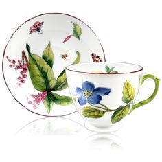 Chelsea Porcelain Teacup and Saucer