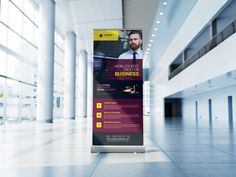 Project Proposal Roll Up Banner