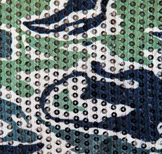 """Camo Couture Sequin Fabric 51"""" - Clear Sequins"""
