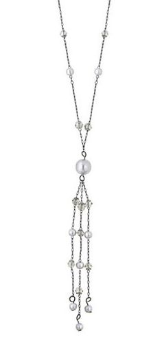 1920 beaded jewlery | 2028 Jewelry 1920's Lantern Bead and Pearl Y Necklace