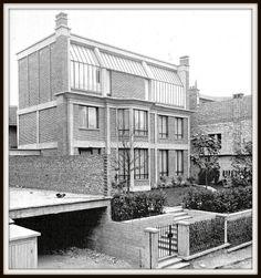 Atelier de Georges Braque. Rue Georges Braque 75014. Architecte : Auguste Perret 1927