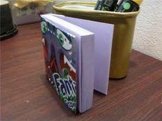 Soda Can book binding