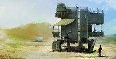 3d desert concept art - Google Search