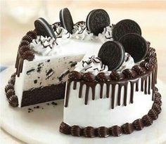 Сладости на скорую руку: торт «Орео» — Вкусные рецепты