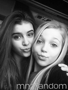 [S5E9] Kalani Hilliker and Brynn Rumfallo on the bus ride to the competition. Brynn is competing with the ALDC this week.