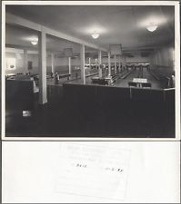 Vintage Photo Bowling Alley Interior 741912