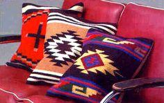 My Santa Fe Style decor Mexican Pillows, Mexican Rug, Mexican Home Decor, Mexican Style, Southwestern Home, Southwest Decor, Southwest Style, Boho Pillows, Throw Pillows