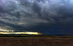 Storm over Yass Valley