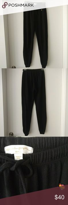 Jogger Pants Classic black Spiritual Gangster jogger pants. Only worn twice. Perfect condition. Great for layering over yoga pants, lounging or running errands. Spiritual Gangster Pants Track Pants & Joggers