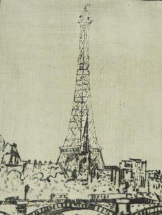 František Tichý Paris Skyline, Artist, Design, Artists