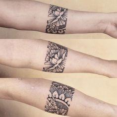 Resultado de imagem para mandala arm tattoo