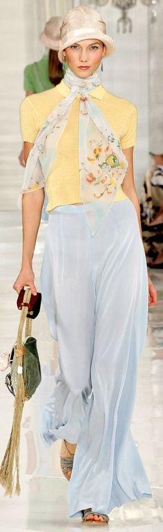 Ralph Lauren ~ Summer Pastels 2012
