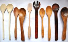 Design Your Revolution: Lets Get Crafty: Painting Wooden Spoons