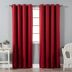 Quality Home Basic Thermal Blackout Curtains