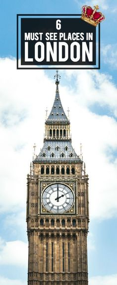 But Here Are 6 Must See Places In London For You To Visit The Time Being Livinginlondon Traveltipslondon Londontraveltips Londontravel