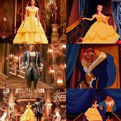 Live action or cartoon?❤️ • • • • • • • • #beautyandthebeast #BATB #batb #emmawatson #danstevens #belle #beast #books #beauty #ball #disneyland #disneyworld #rose #magic #castle #disneyprincess #princessdisney #belledress #princess #happilyeverafter #rose #magic #hermionegranger #Hermione #harrypotter #ronweasly #emma #watson #ball #gold #hogwarts