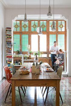 Living design - Inspirador, este loft em Berlim foi pensado para uma geração conectada e criativa, by Etienne Descloux e Katrin Greiling